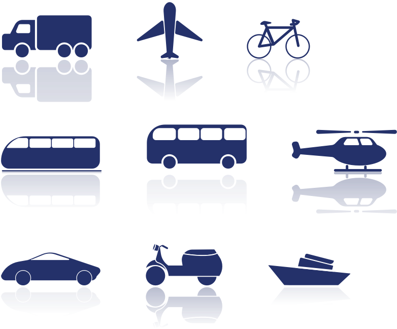 Transportation Icon Pack By ppokta