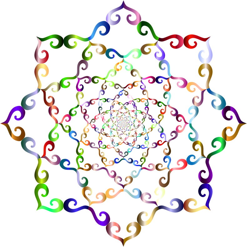 Arabesque Vortex Chromatic No BG