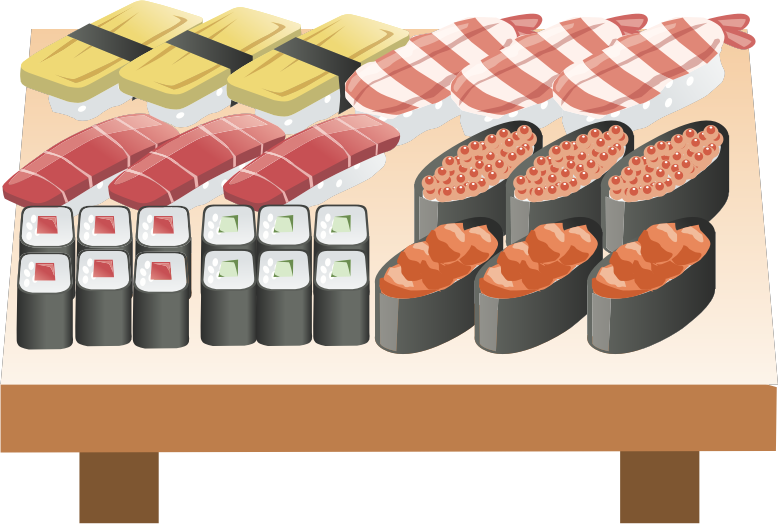Sushi Assortment (#3)