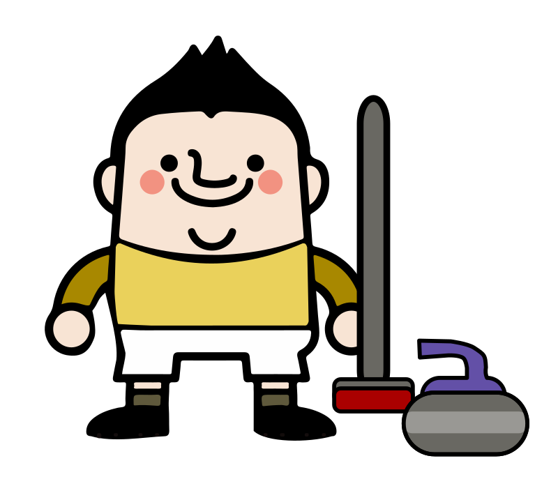 Curling Athlete