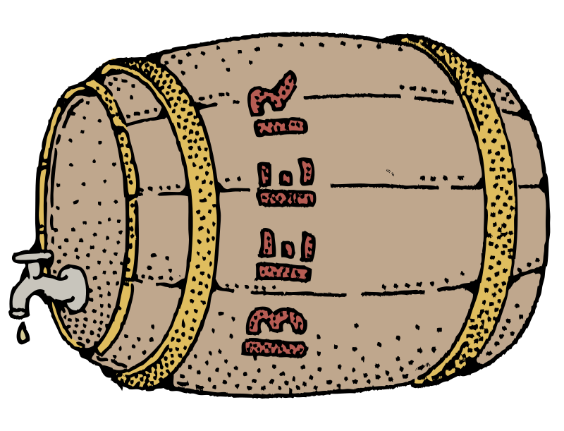 Beer Barrel - Colour