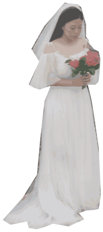 Wedding Dress Lady