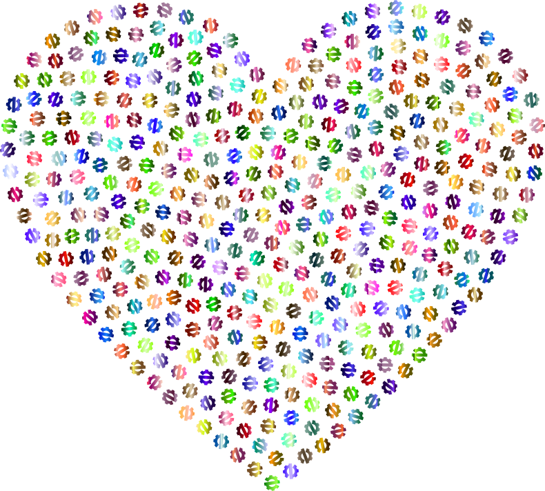 Heart Zerowaste Chromatic No BG