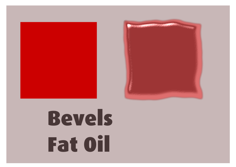Bevels Fat oil