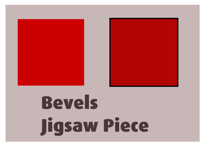 Bevels Jigsaw Piece