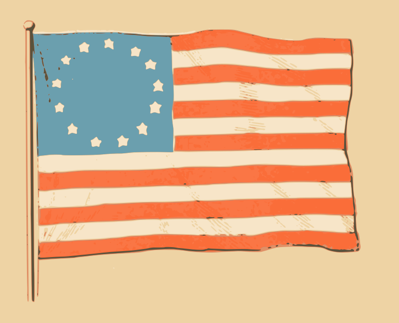 US Colonial Flag