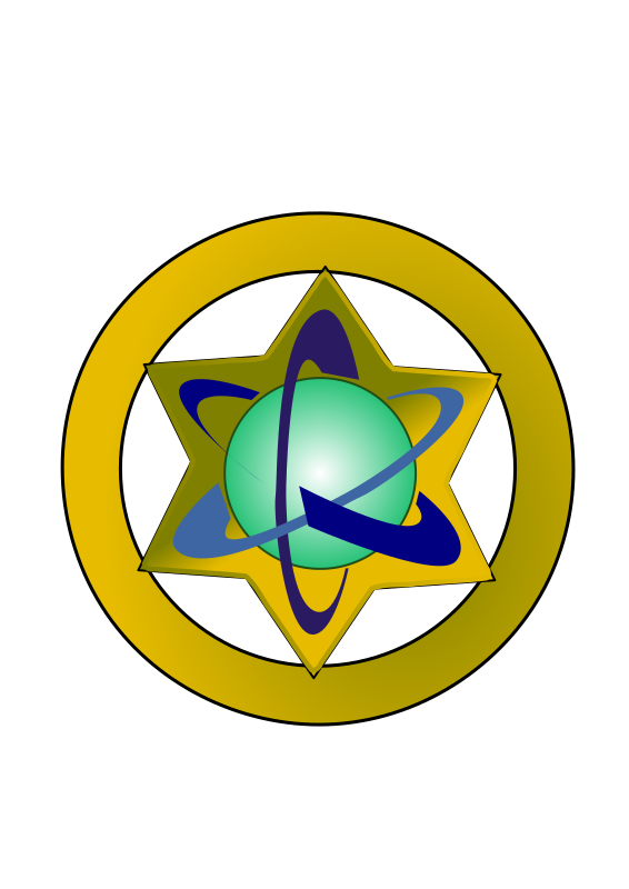 Space Sherriff Badge