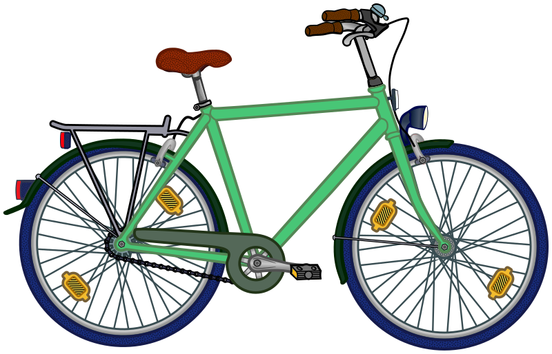 bicycle - coloured