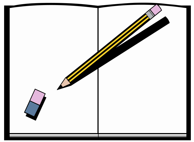 Book and Pen - Colour
