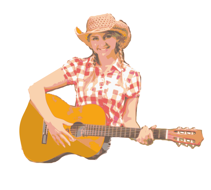 Cowgirl with a Guitar