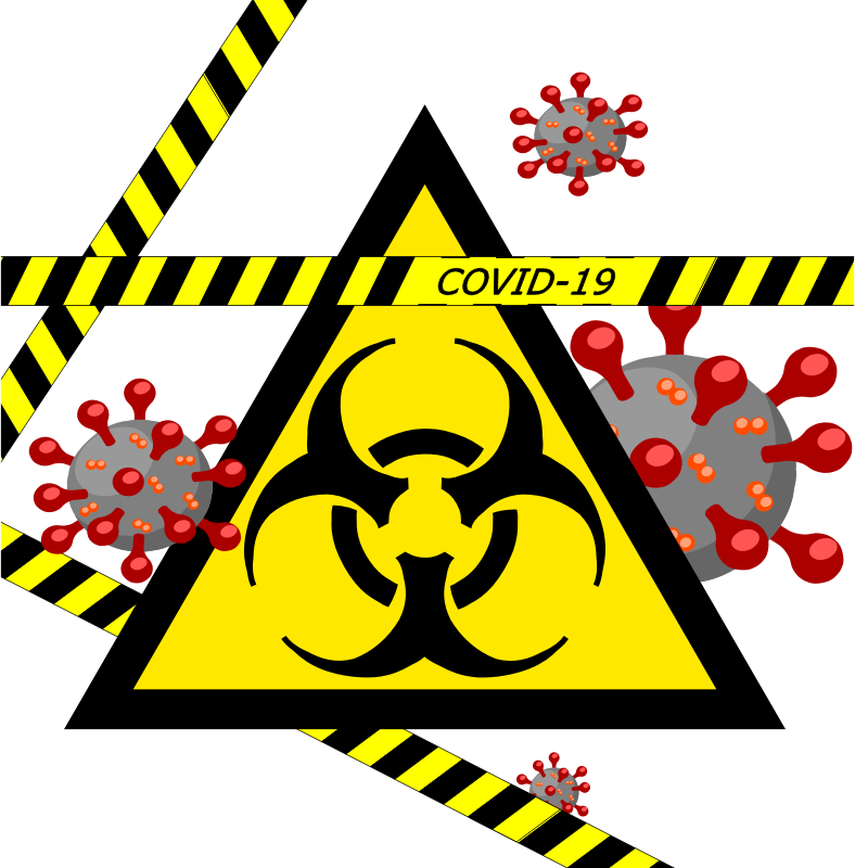 Covid Biohazard Animation