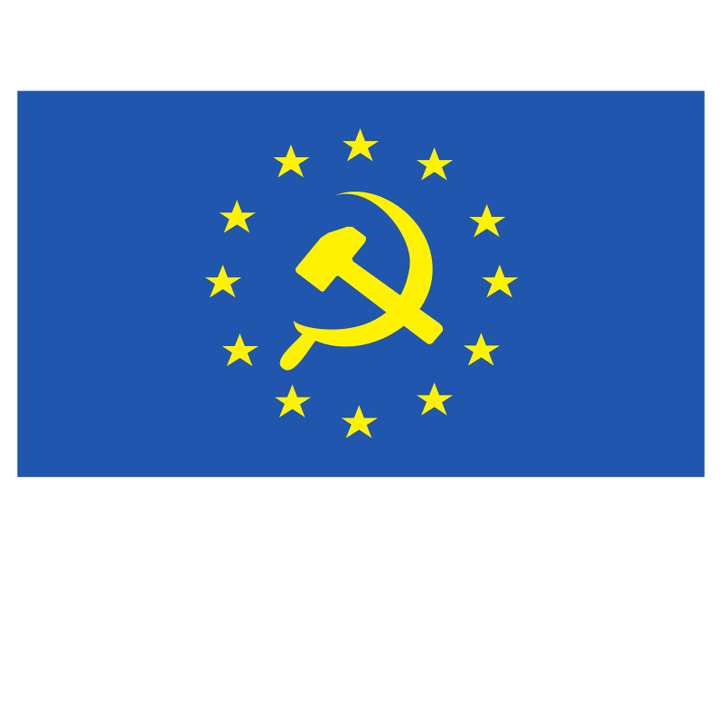 European Union socialist flag