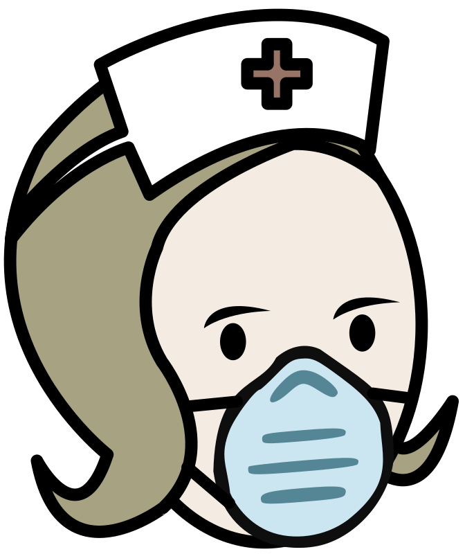Nurse in a Medical Mask