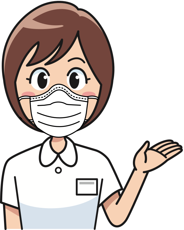 Happy Nurse in a Mask
