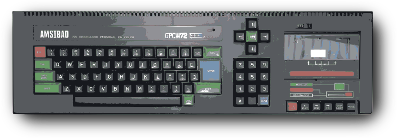 Retro Keyboard Computer