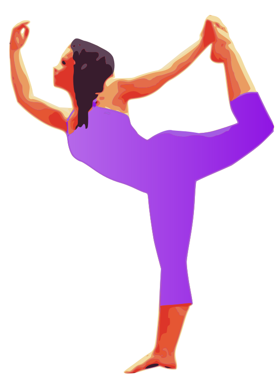 Yoga Pose Lady