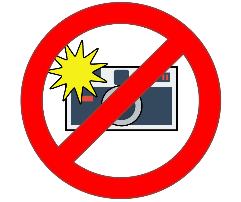 No Flash Cameras