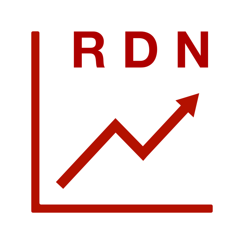 "RAW DATA NOW ""RDN"" Chart Logotype"