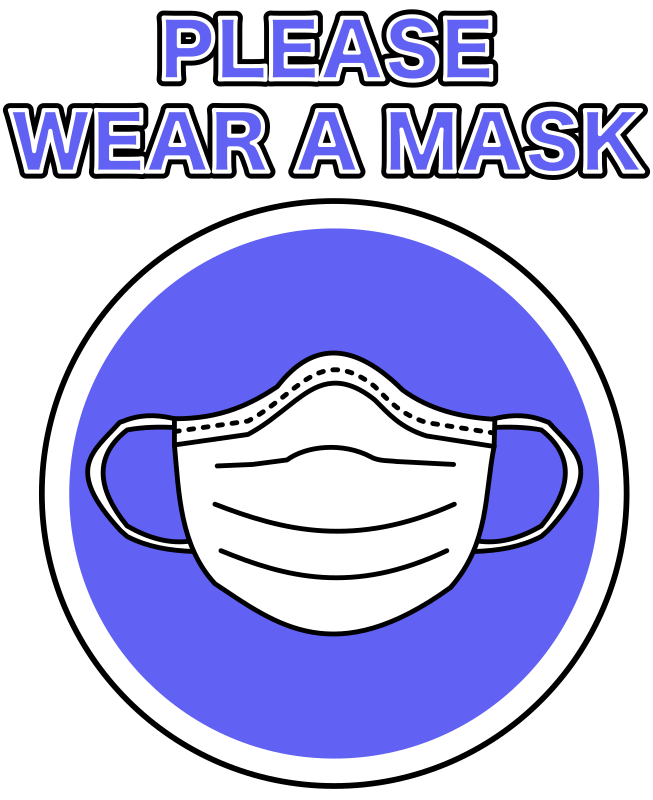 Please Wear a Mask - Poster