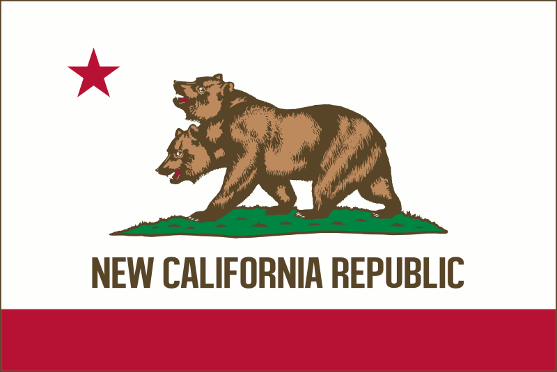Flag of New California Republic