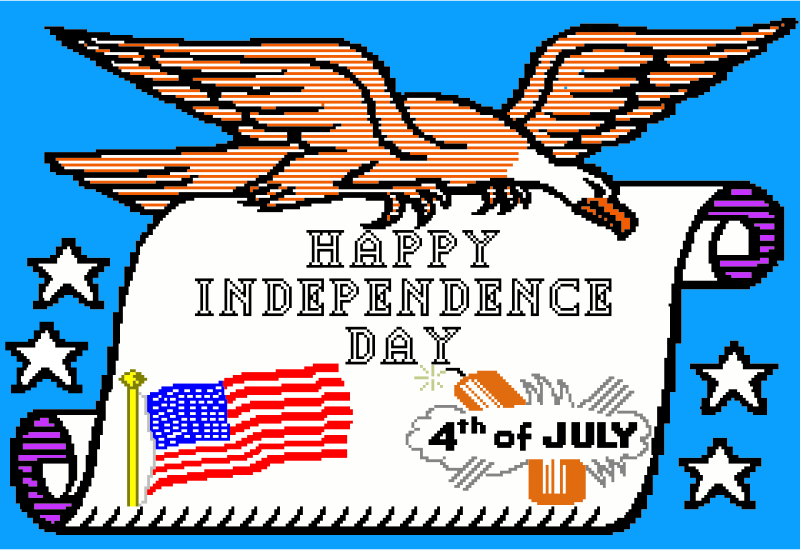 8bit Independence Day