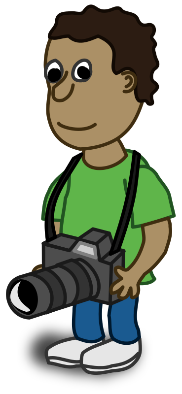Camera Man Cartoon