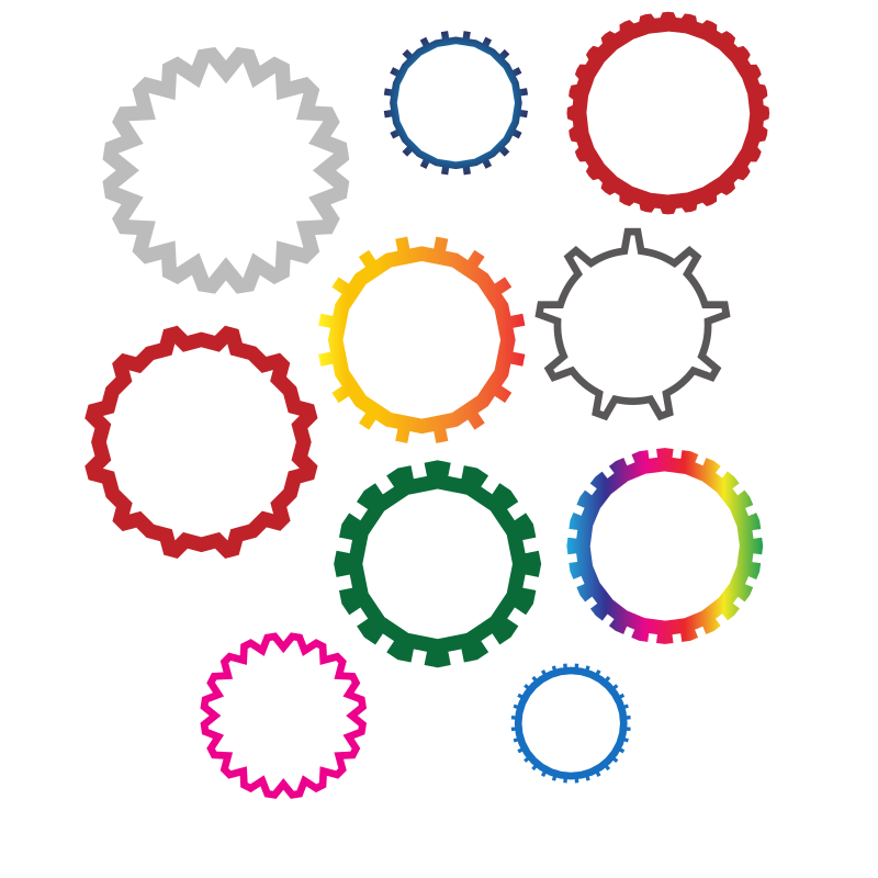 Gear shapes