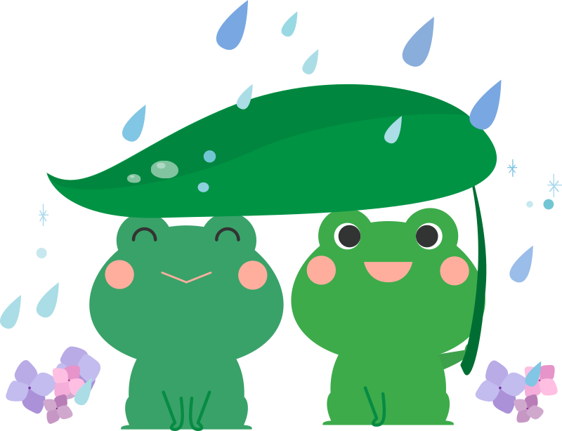 Rainy Season Frogs
