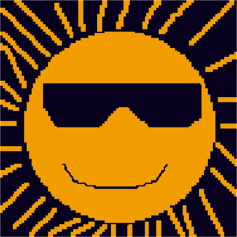 Sun with Glasses (refix)