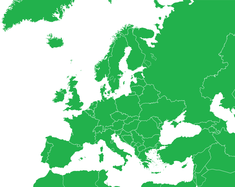 European Region Map