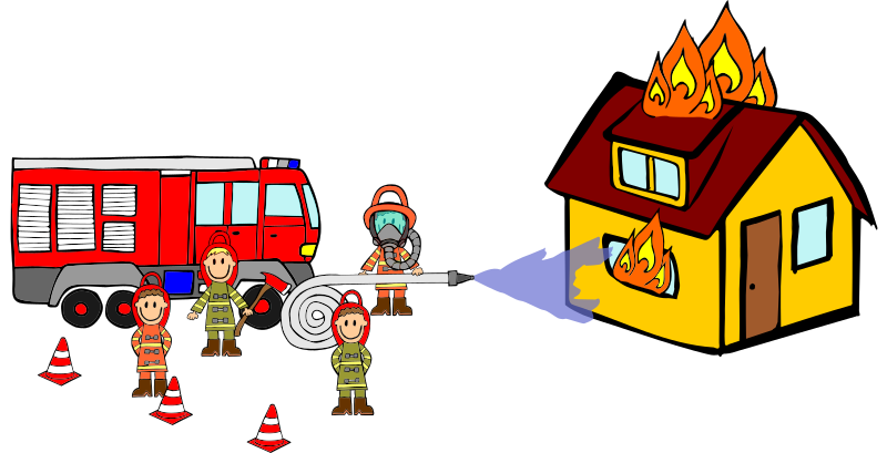 Firefighting Scene