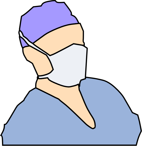 Doctor Wearing Sanitary Mask