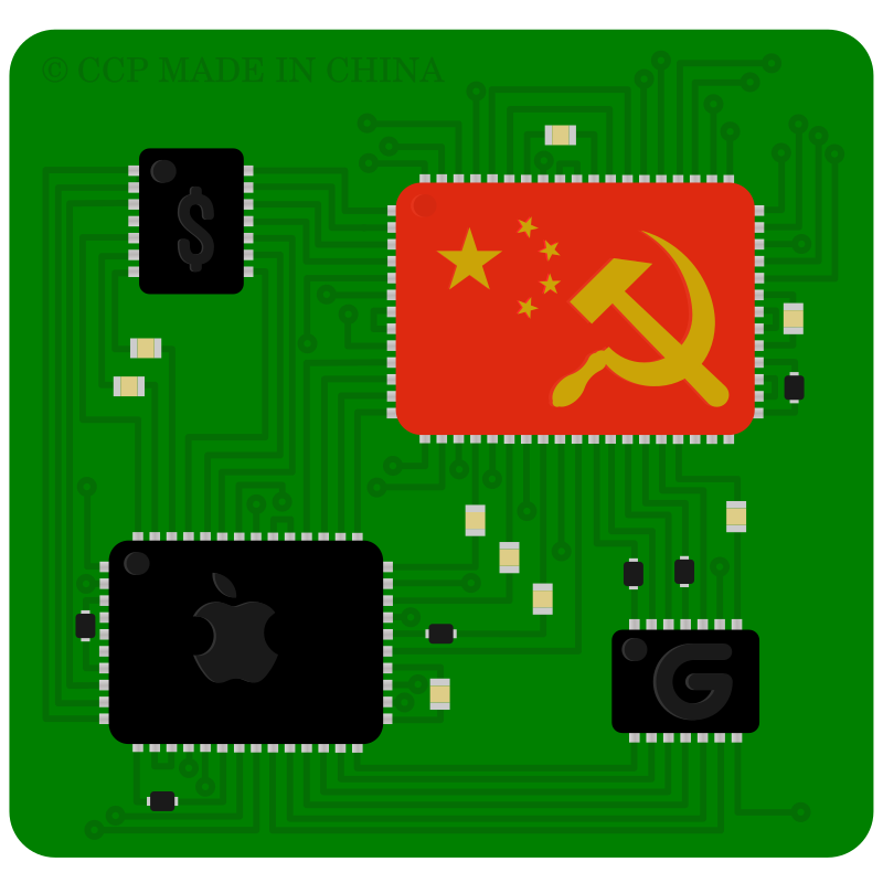 chinese microchip