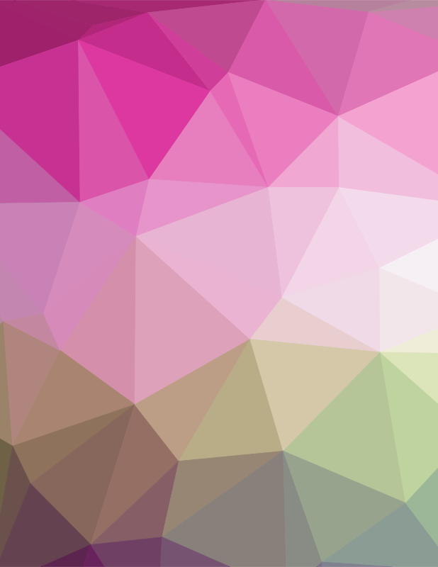 Pink polygonal pattern