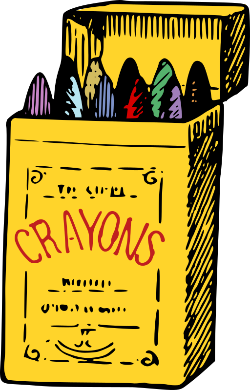Crayons - Colour Remix