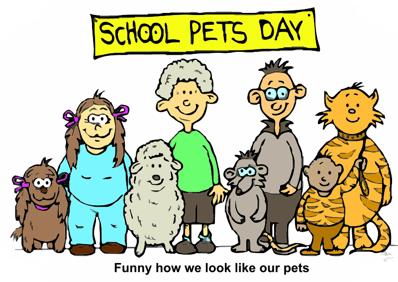 Pet Day at School
