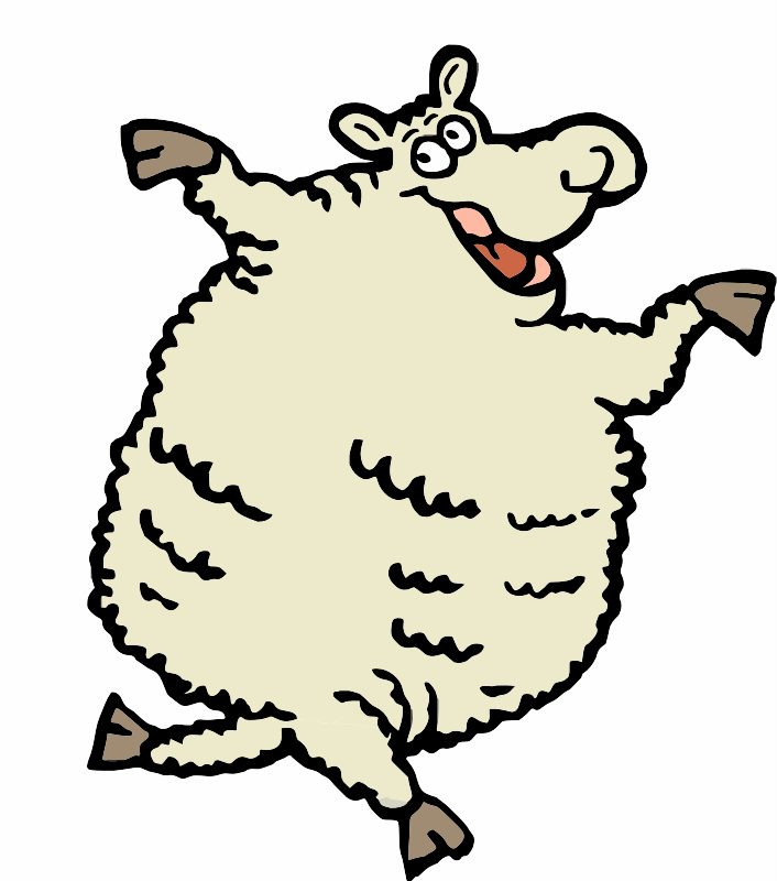A Dancing Sheep