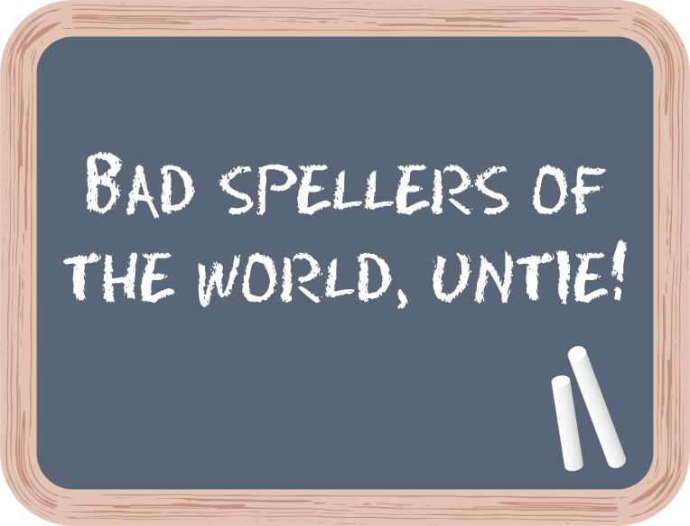 Bad Spellers Support Club