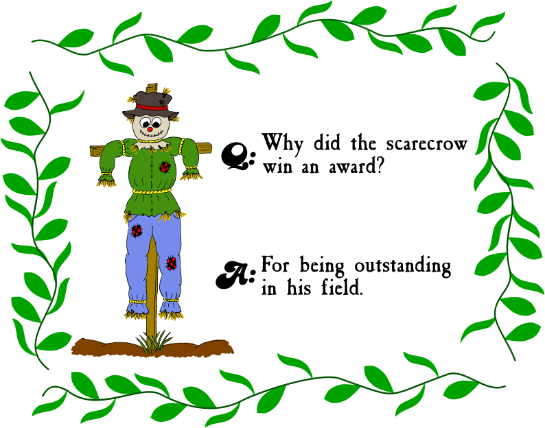 Scarecrow Riddle