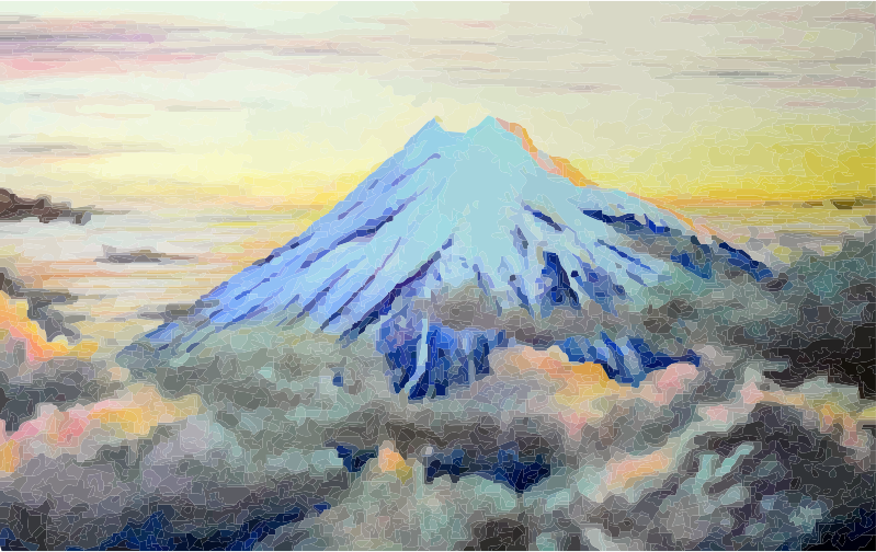 Mt Taranaki Summit at Sunset