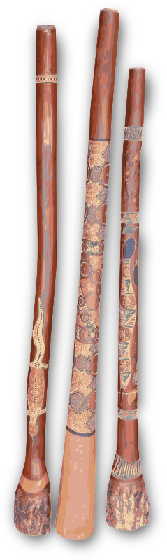 Three Didgeridoo in a Row