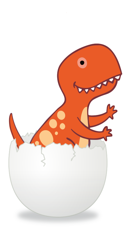 Cracked Dino Egg