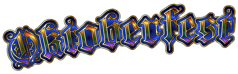 Oktoberfest Typography - Transparent Mix
