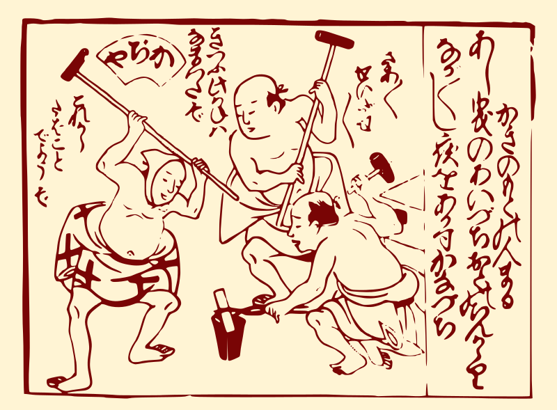 Edo Period Blacksmiths