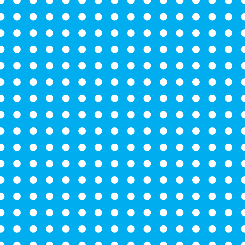Dotted pattern on blue background
