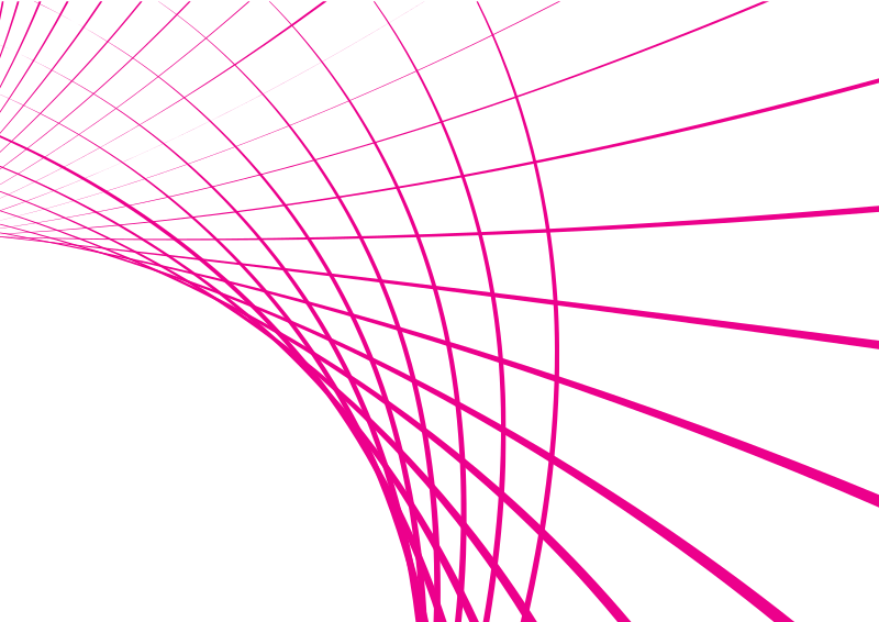 Pink lines swirl