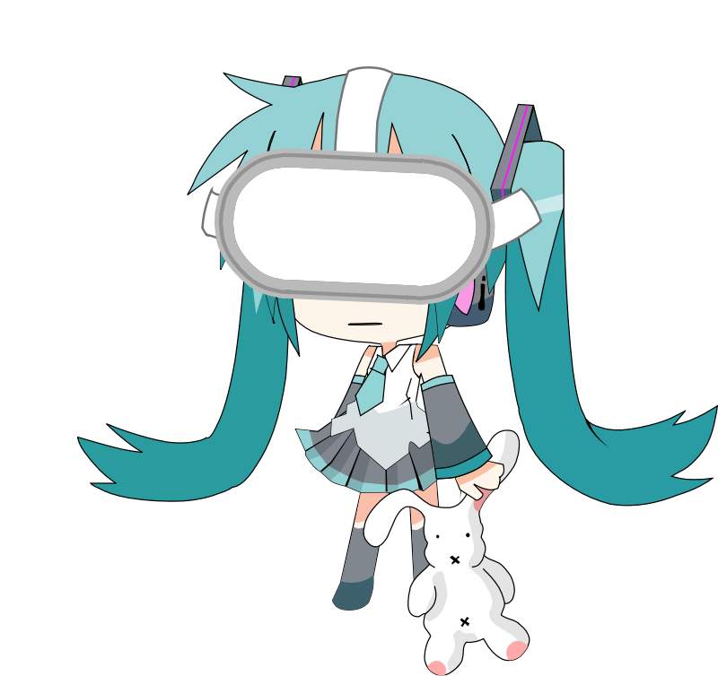miku usagi VR Animation