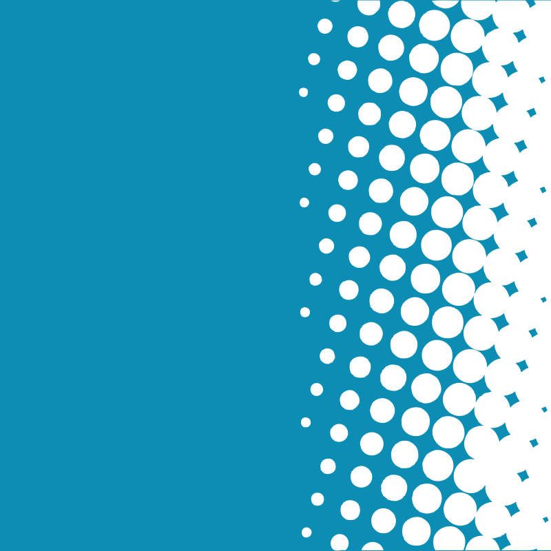 Blue background white halftone pattern