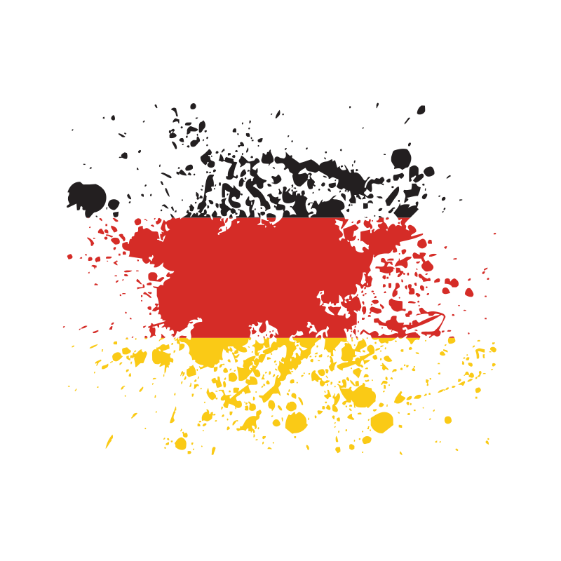 German flag splat