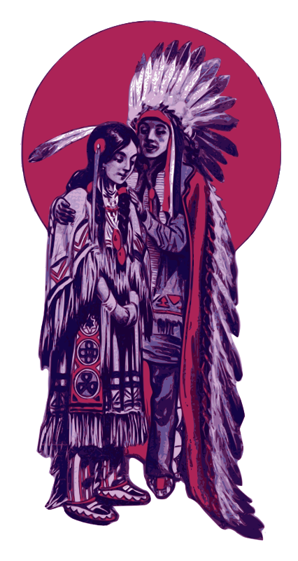 Native American Couple - Redo Remix